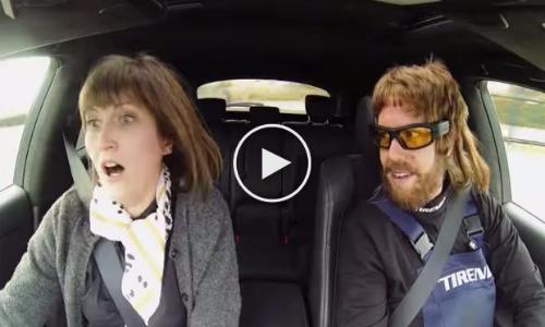 PRANK: Sebastian Vettel Having Fun Dressed As A Car Mechanic