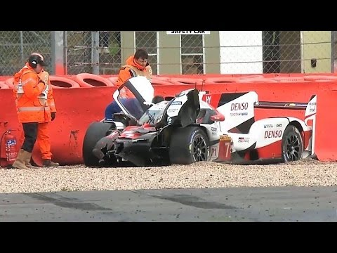 CRASHES + HIGHLIGHTS! WEC at Silverstone 2017