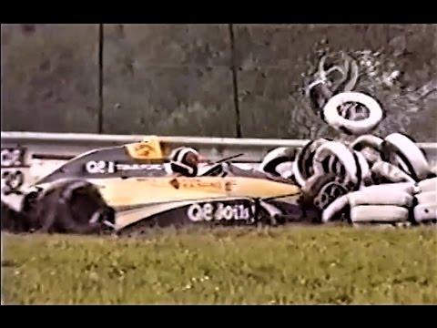 Formula 3000 Crash Compilation 1985-1989