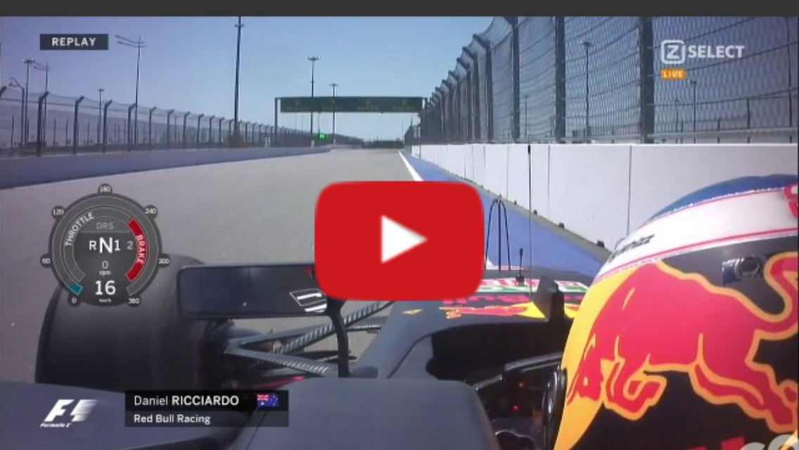 F1 Russia 2017 GP Daniel Ricciardo Engine Shut Down FP3 – SportVideos TV