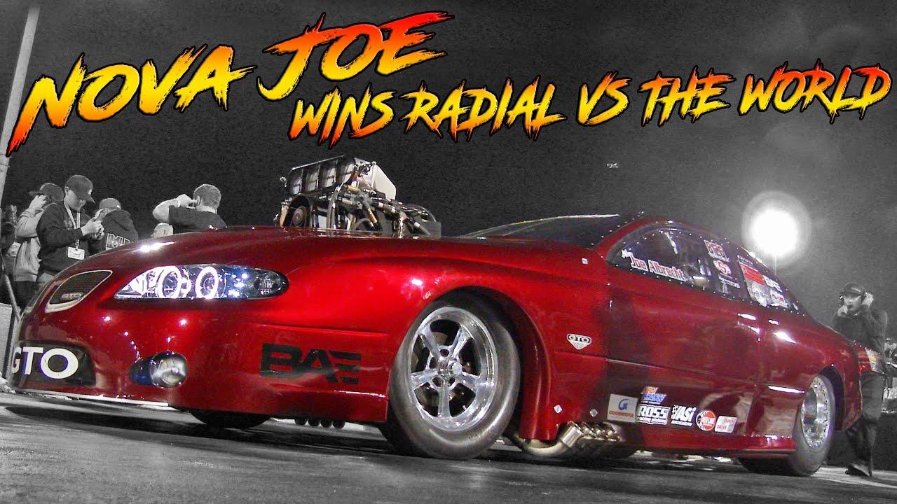 JOE ALBRECHT WINS RADIAL VS THE WORLD AT LIGHTS OUT 8!