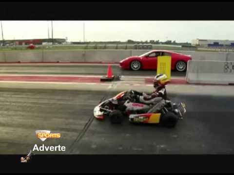 Ferrari vs Kart