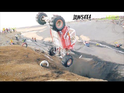 Icelandic 4×4 Formula Offroad – Sand Wall Hill Climb in Hella!