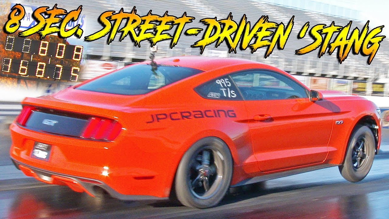 WORLDS FASTEST STREET DRIVEN MUSTANG – SINGLE TURBO IRS!