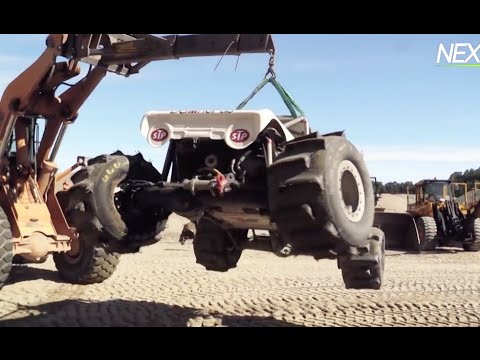 Extreme Offroad Jump and Crash – Lightfoot Skien 2015!