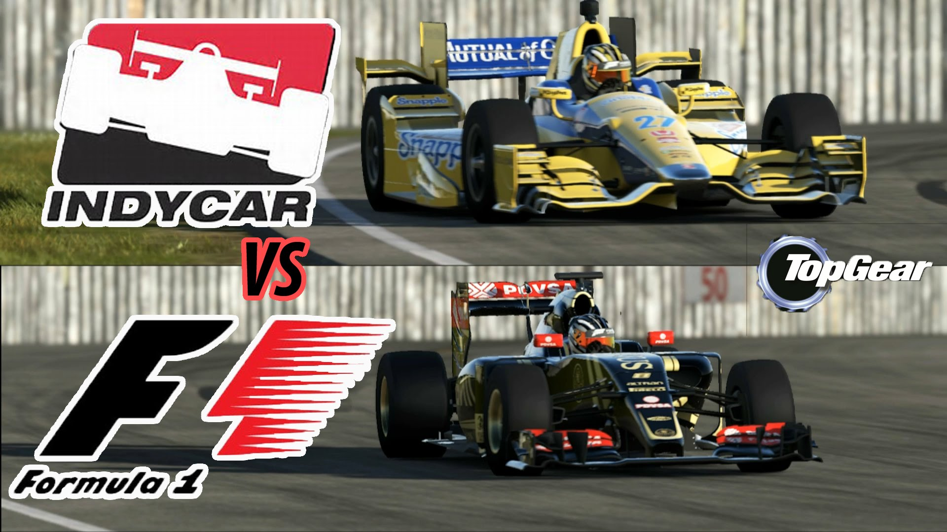 Formula 1 vs IndyCar