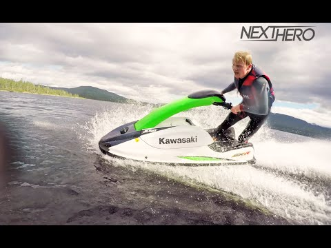 Jet Skiing on Mountain Lake in Norway!