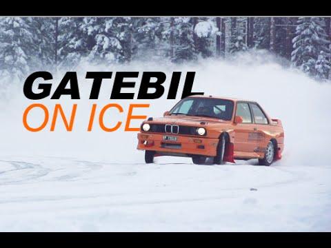 GATEBIL ON ICE – Drifting, Sigdal 2015! w/Fredric Aasbø & Kenneth Alm