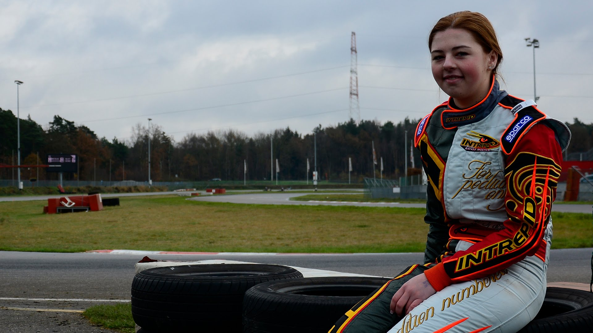 Victoria Verstappen, Intrepid Rotax Max Test, Genk, 06/12/2014