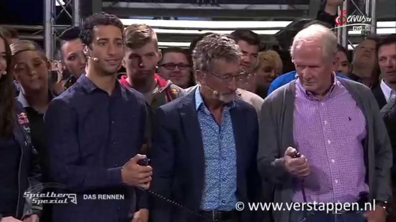 Max Verstappen @ Sport und Talk aus dem Hangar-7, 11/05/2015