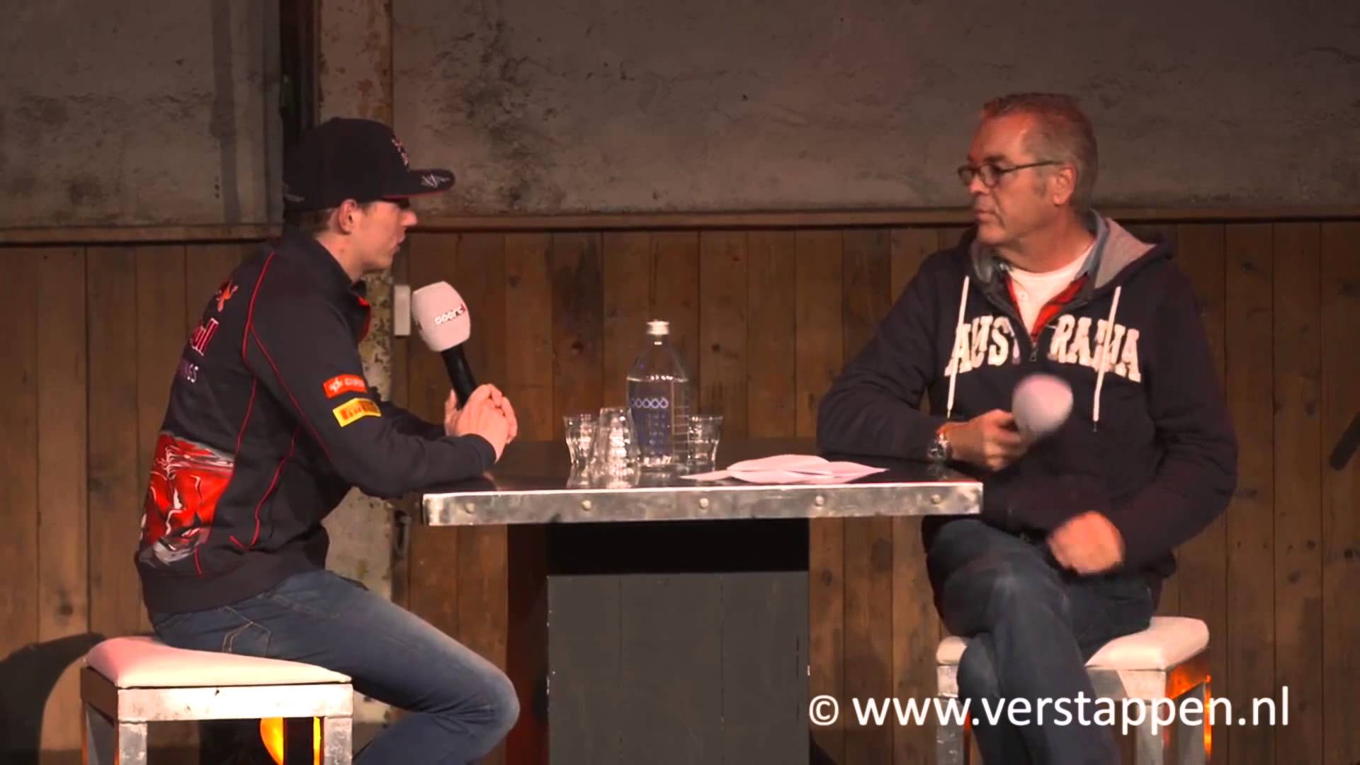 Sport1 Racing Day – Interview Max Verstappen door Olav Mol, Kartfabrique Utrecht, 01/05/2015