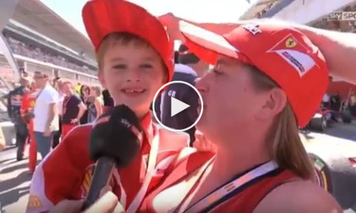 Interview With Kimi's Crying Fan 'Thomas' At F1 2017 Spain