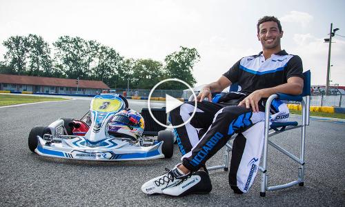 F1: Off the Grid: Monza – Karting with Daniel Ricciardo in RicciardoKarts