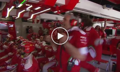 Never Before Seen Footage: Reactions in Pit After Mercedes Crash in Spain F1 2016!