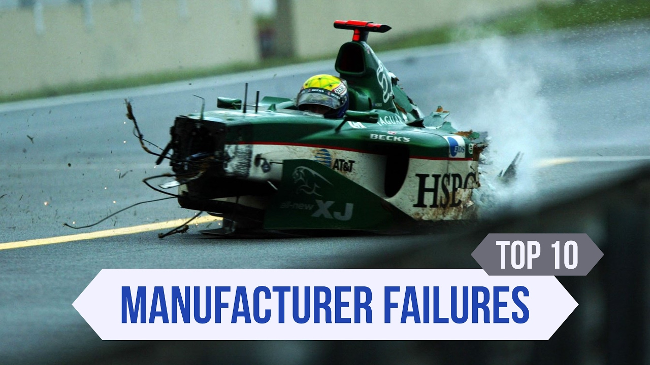 Top 10 F1 Manufacturer Misadventures