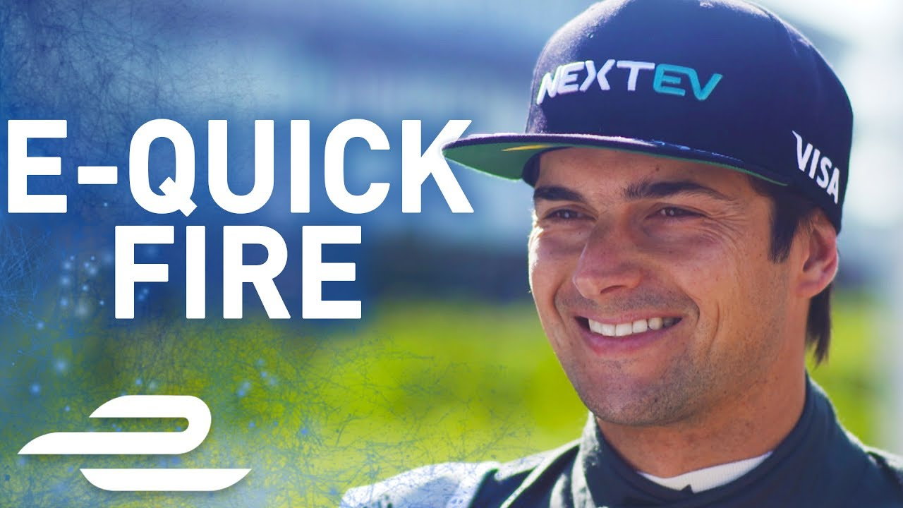 """Favourite Film? Cool Runnings!"" Nelson Piquet Jr Q&A – Formula E"