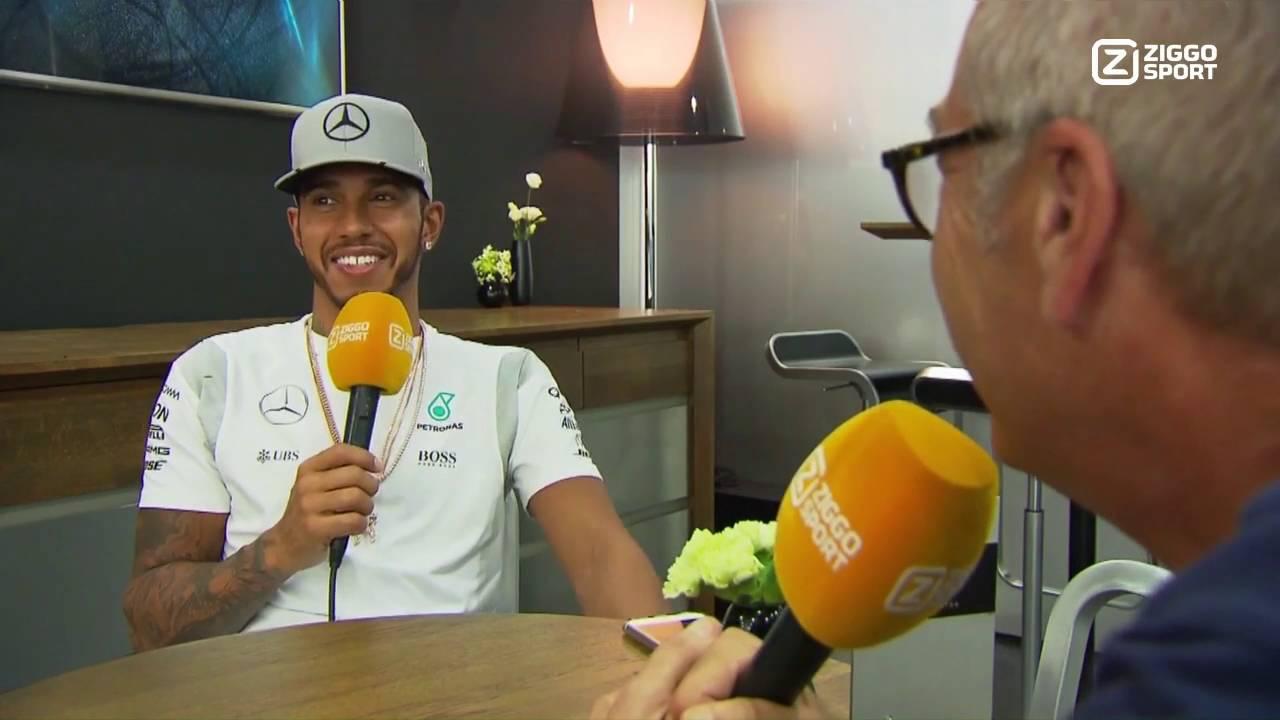 Lewis Hamilton tegen Olav: 'Mag 1 vraag over Max Verstappen stellen'
