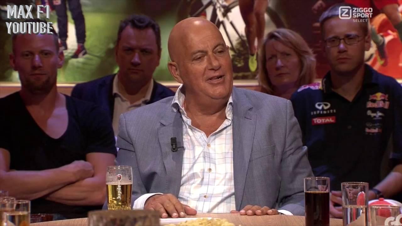 Max Verstappen op bezoek bij ZIGGO peptalk