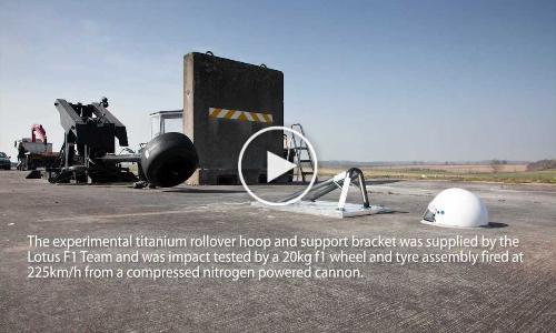 FIA Institute [HALO] Crash Test for Formula 1