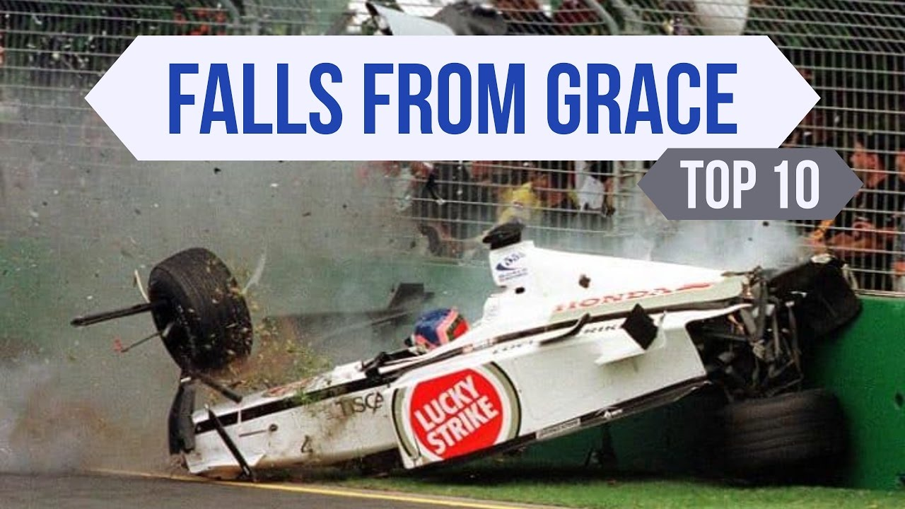 Top 10 F1 Falls From Grace