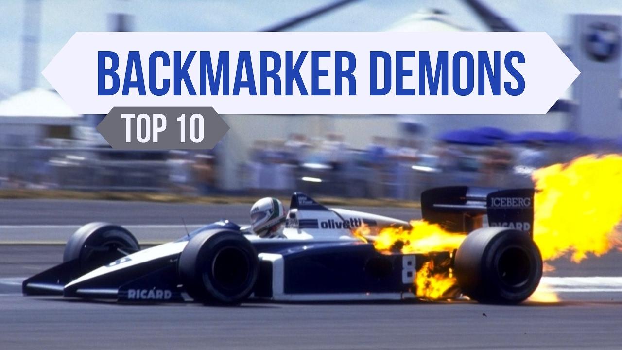 Top 10 F1 Backmarker Demons