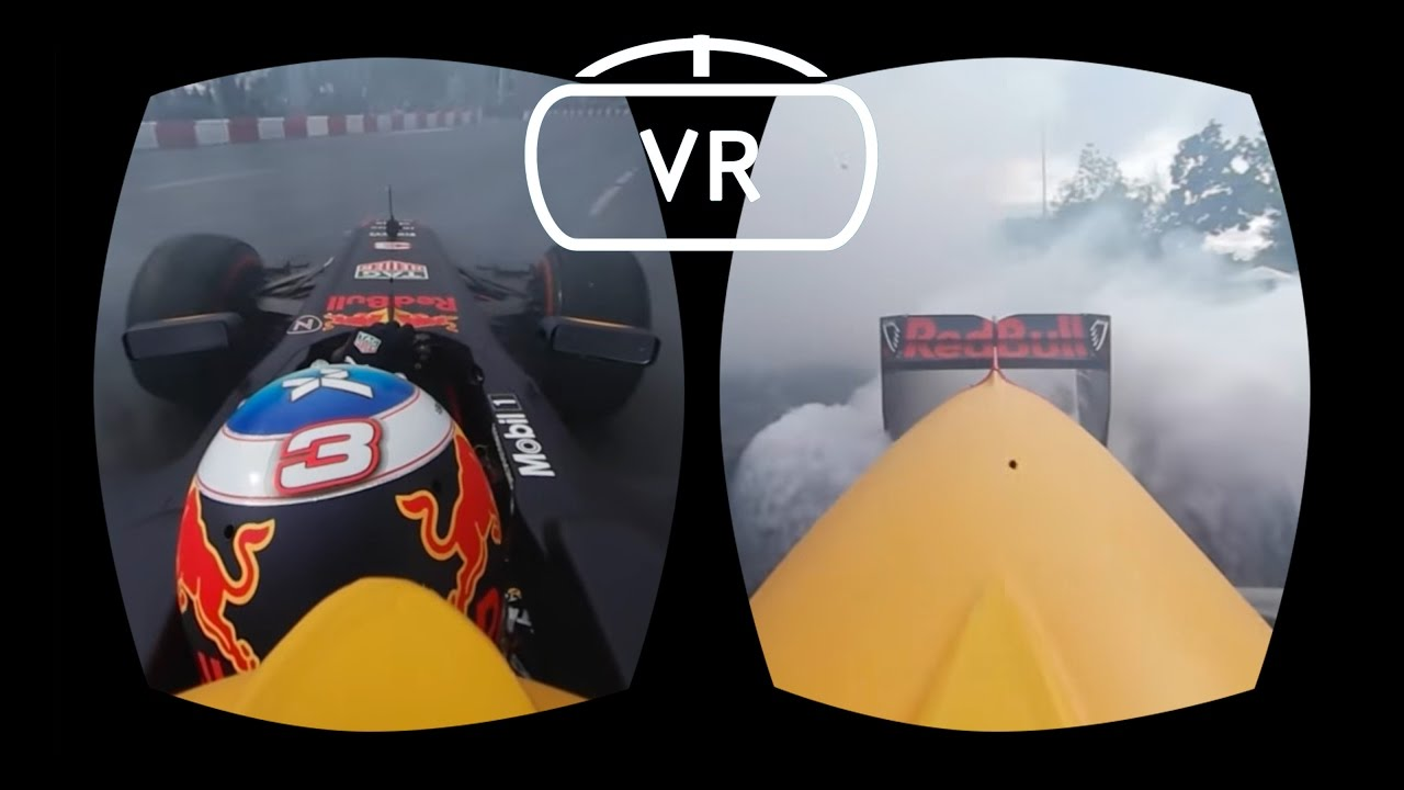 Onboard an F1 car for street burnouts in Virtual Reality and 360!