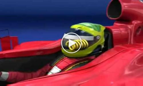 Felipe Massa Accident Hungarian GP 2009 Animation