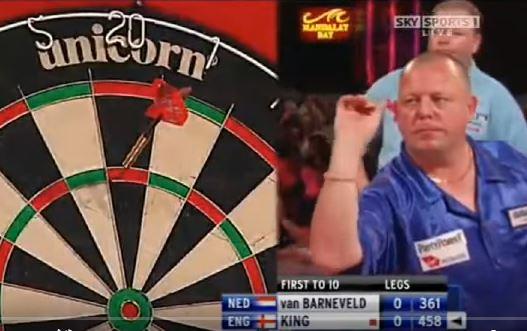 2009 Las Vegas Desert Classic Darts | Quarterfinal | Raymond van ...