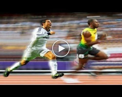 Cristiano Ronaldo Beats Usain Bolt at 100 Meter Run!