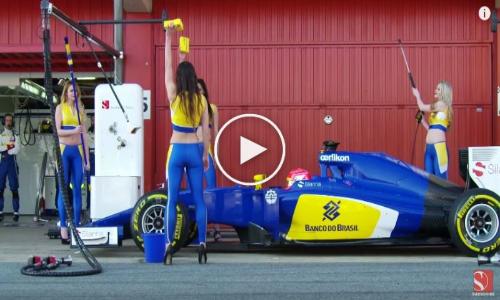 F1 Pit Stop: Car Wash – Sauber F1 Team