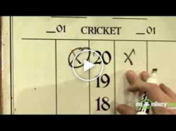 How To Play Darts The Game Of Cricket Sportvideos Tv