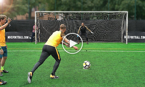 Freekickerz vs Sergio Ramos – Penalty Football Challenge