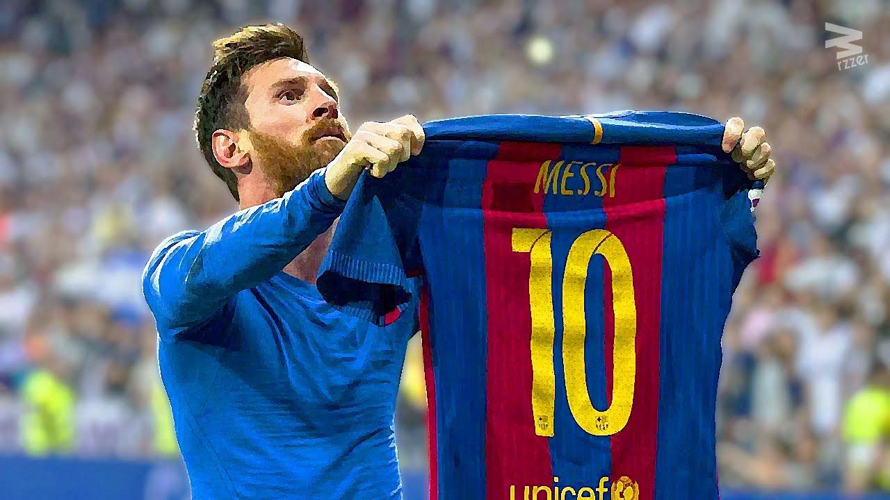 Lionel Messi: Top 10 Craziest Goals 2017
