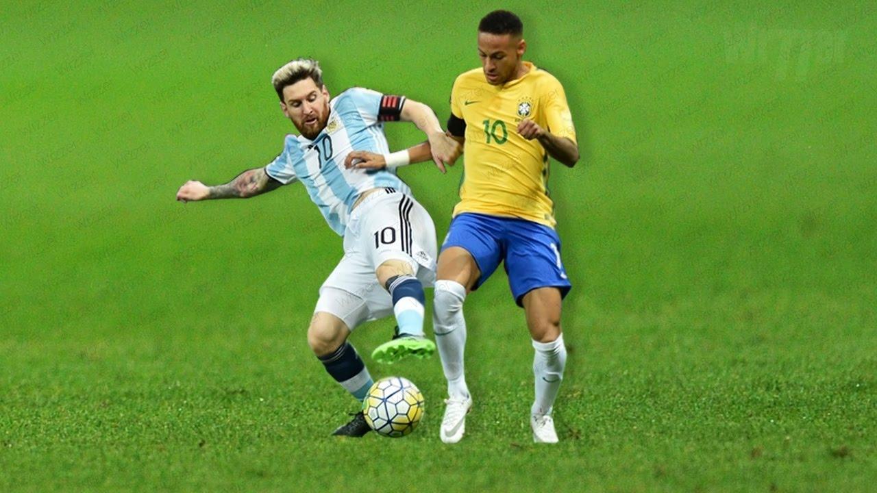 Lionel Messi Vs Neymar Jr: Against Each Other