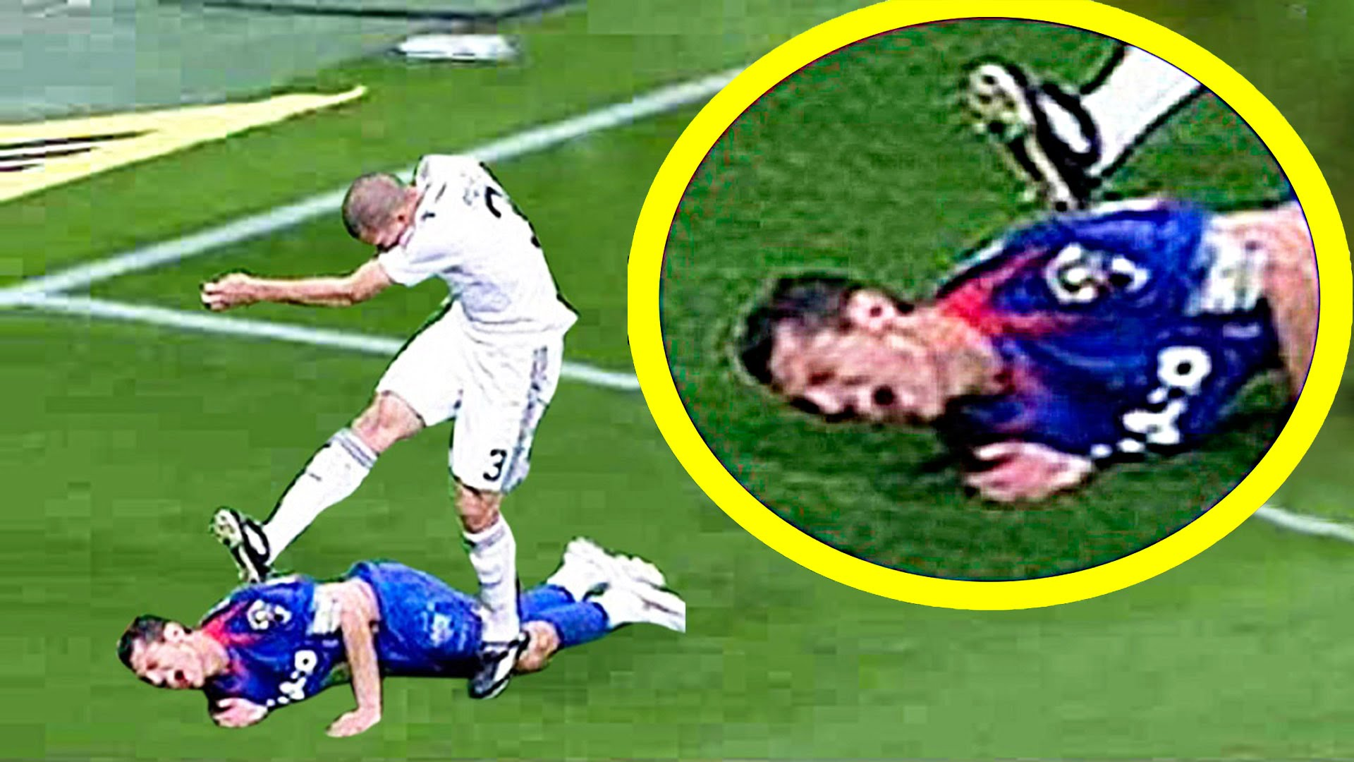 Crazy Football Fights Fouls Brutal Tackle Red Cards Sportvideos Tv