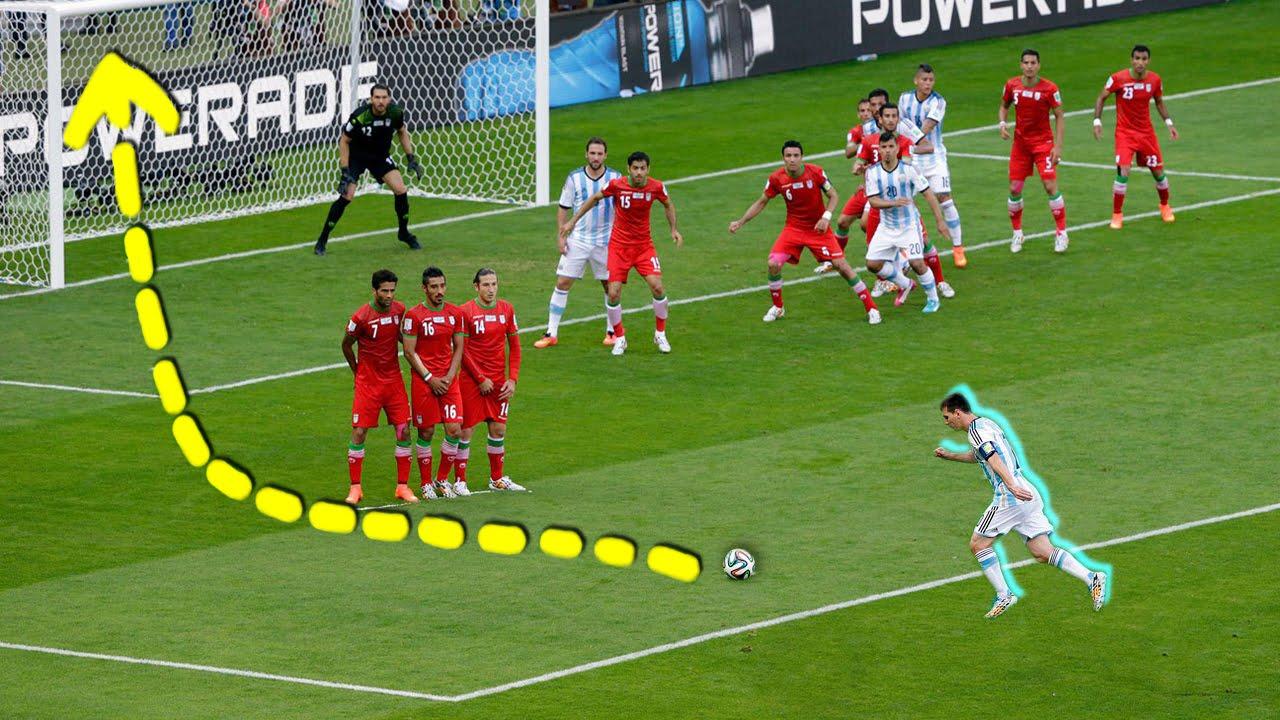 Lionel Messi Vs Cristiano Ronaldo ● Craziest Free Kicks