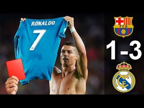 Barcelona vs Real Madrid 1-3 – All Goals & Highlights 13/08/2017 HD