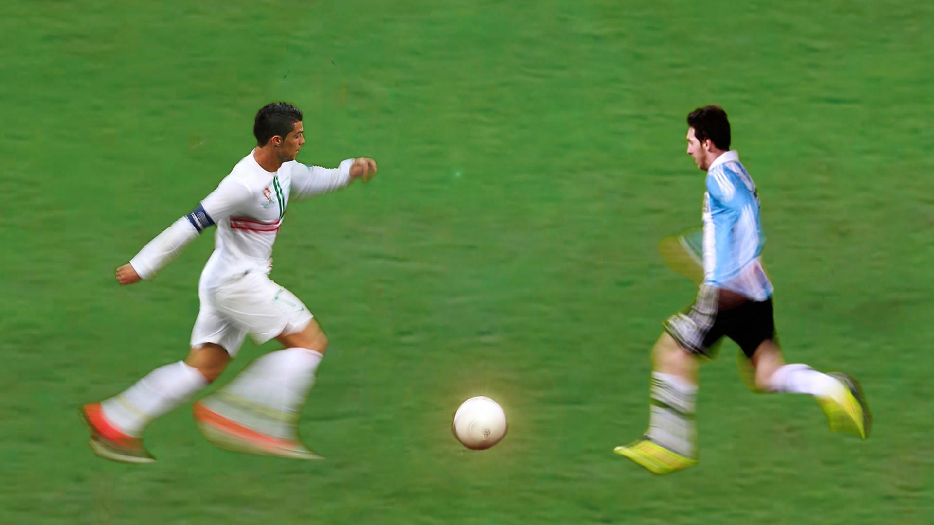 Cristiano Ronaldo Vs Lionel Messi ● Legendary Dribbling Skills