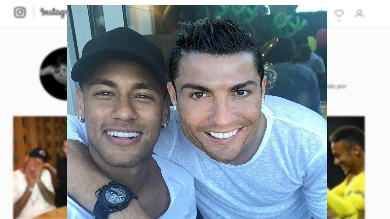 Neymar Jr & Cristiano Ronaldo • Respect Moments