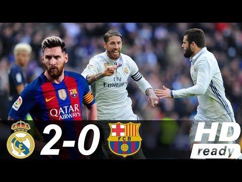 Real Madrid vs Barcelona 2-0 – Highlights & Goals 16/08/2017 HD