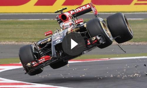 Pastor Maldonado Crash Compilation: 40 Crashes in 5 Years F1