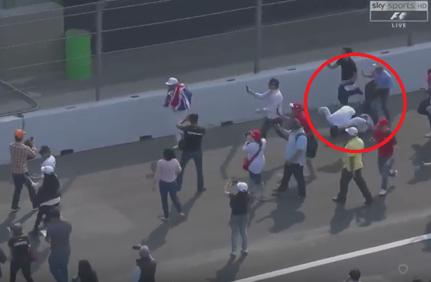 Lewis Hamilton Caused One More Crash After The Race