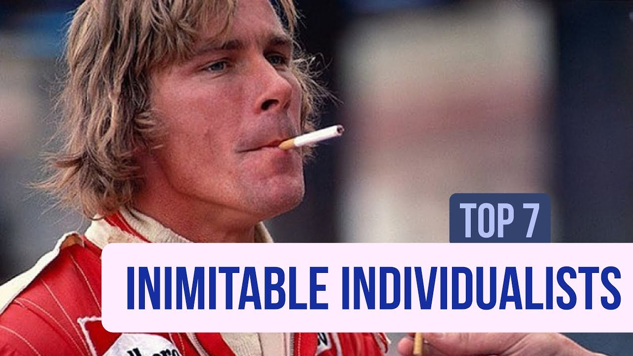 Top 7 F1 Inimitable Individualists (A Return to Text!)