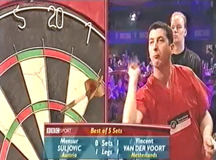 15 Years Ago Suljovic Was Throwing Faster Than Van der Voort