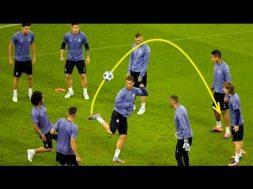 Football Skills From Ronaldo Neymar Messi Training Edition