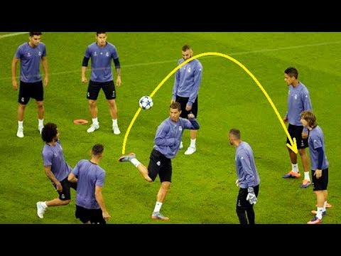 Football Skills from Ronaldo, Neymar, Messi… Training Edition