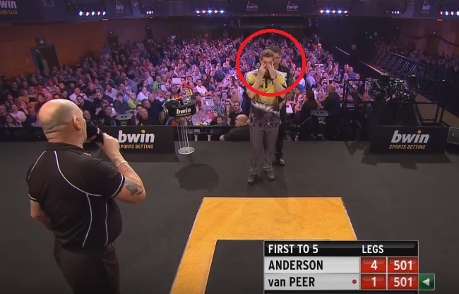 Gary Anderson's Attempt To Help Berry van Peer With His Dartitus