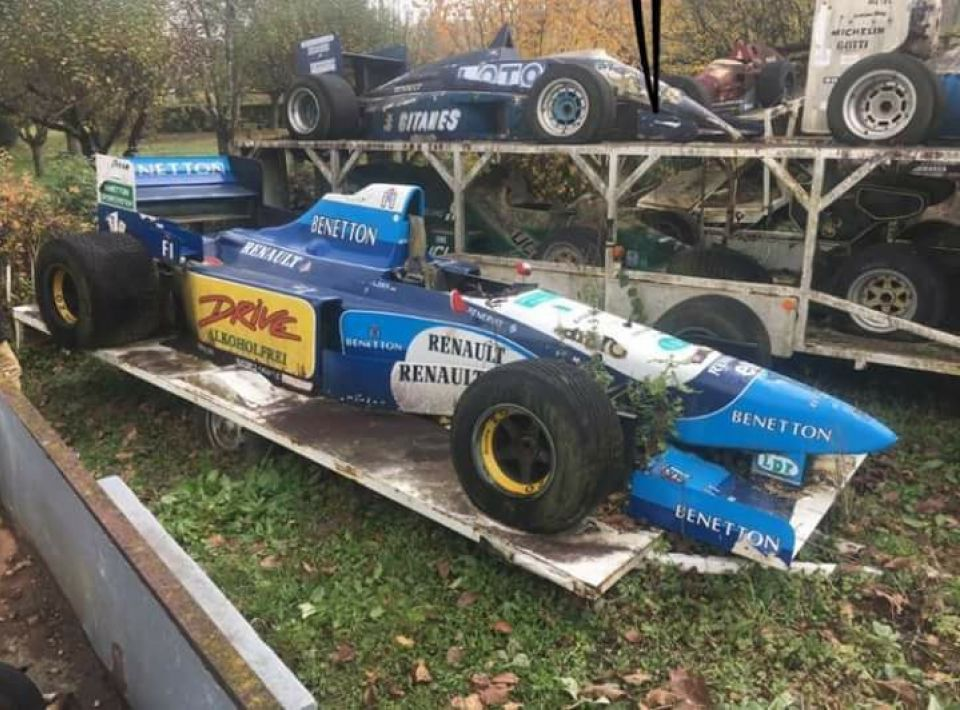Barn Find In France With Multiple Historic F1 Cars
