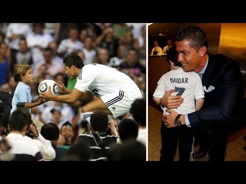 When Kids Meet Their Heroes ⚽️ Emotional Moments