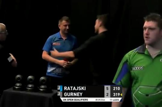 Daryl Gurney Got Angry With Krzysztof Ratajski In Final